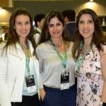 Clara Campos, Minor Hotels, Flávia Leonelo, da New Tempo, e Simone Mariote, da Preferred Hotels & Resorts