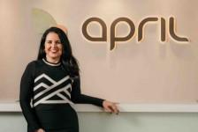 April envia mensagem motivacional a parceiros; veja vídeo