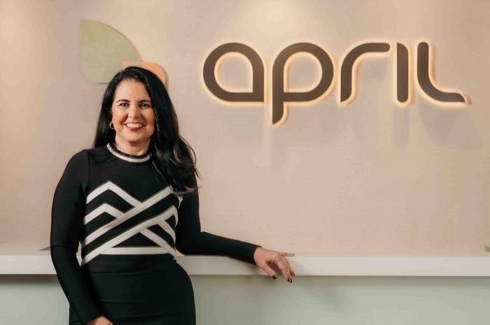 Claudia Brito, diretora comercial da April Brasil Seguro Viagem