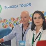 Claudio Maia e Claudia Macedo, da Itaparica Tour Operator
