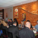 Convidados experimentam pratos típicos da culinária Paraense