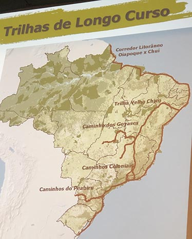 Corredores de trilhas no Brasil