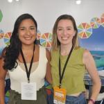 Débora Linhares e Gabriela Diaz, do Recife CVB