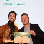 Daniel Cabrera, da Vivala, e ÂNgelo Sanches, secretario de Turismo de Canela