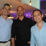 Daniel Pontes, Rômulo Arroba e Marc Vermeulen, da Globalmundi