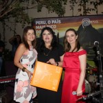 Daniela Araújo da Gol, Milagros Ochoa e Fanny Thivierge da Promperu