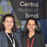 Daniela Pereira e Luciana Oliveira, do Consórcio Brasil Central
