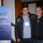 Dante Campos, da Braztoa, e Celso Andrade, da April