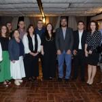 Dante Campos e Roberto Nedelciu, presidente da Braztoa com secretarios e prefeitos da serra de Santa Catarina