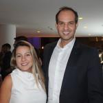 Debora Quintella e Marcus Simões, da Hotelbeds