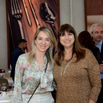 Debora Zanovelli, do Sabre, e Cristina Gerardi, da Qatans Airways