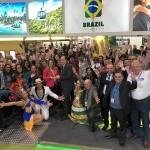 Delegação brasileira celebra prêmio concedido pela WTM