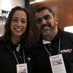 Denise Farjalla, gestora de resorts e Eduardo Torres, da Schultz RJ