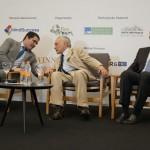 Deputado Newton Cardoso com ex-presidente Temer e o deputado Herculano Passos
