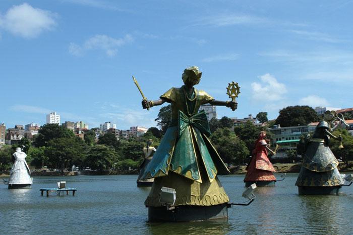 Dique do Tororo, na Bahia (Foto: Tatiana Azeviche)