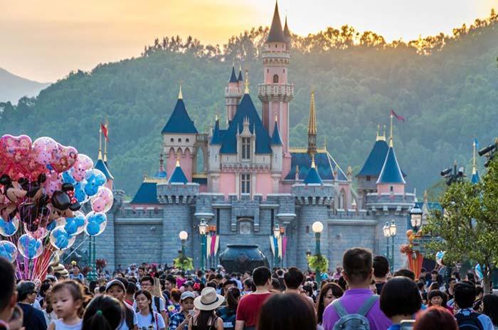 Resultados da Hong Kong Disneyland afetaram o balanço do quarto trimestre fiscal da Disney.