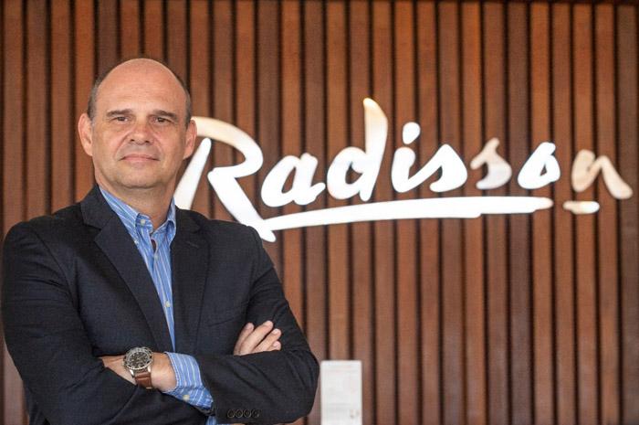 Eduardo Ragassi, Gerente Geral do Radisson Hotel Aracajú