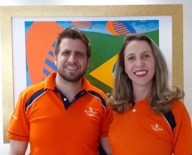 Eduardo Vansan e Leticia Alvarenga