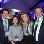 Eduardo Zorzanello, Flavia Didomenico, presidente da Santur, Marta Rossi, e Bob Santos, do MTur