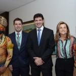 Eduardo Zorzanello, Marcelo Alvaro, Ministro do Turismo e Marta Rossi, do Festuris
