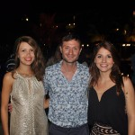 Elisângela Fernandes, da Infinitas Travel (RJ), José Brouwer, da Gol, e Tamiris Souza, da Abreu Online