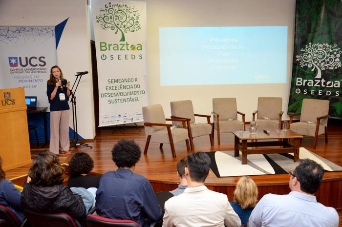 Elisa Dettoni, gerente de projetos de Produção e Consumo Sustentável da ONU