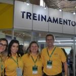 Equipe CVC no espaço de treinamentos do Festuris Gramado