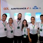 Equipe da Gol, Air France e KLM