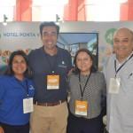 Equipe de Alagoas, apresentada por Paula Medeiros e Maurinho Vasconcelos, do Hotel Ponta Verde, Susana Villanueva, do Grand Oca Maragogi, e Paulo Kugelmas, superintendente de Turismo de Alagoas