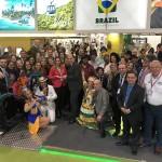 Equipe e delegação brasileira na WTM Londres 2019