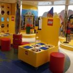 Espaço da LEGO a bordo