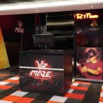 Espaço para game de realidade virtual