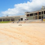 Esta é a área externa do Centro de Convenções de Salvador