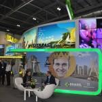 """Estande do Brasil promove a campanha """"Rei do Rolê"""""""