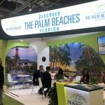 Estande do Discover The Palm Beaches