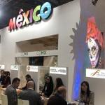 Estande do México