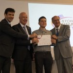 Estudante Guilherme Pacheco ganhou uma homenagem do ministro Marcelo Álvaro, Deputado Herculano Passos e ex-governador Geraldo Alckmin
