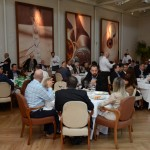 Evento foi realizado no restaurante Cantaloup