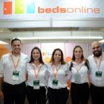 Fábio Cravo, Carmnen Servi, Juliana Luengo, Paula Daros e Paolo Lacerda, da Beedsonline