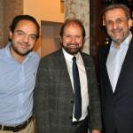 Fabio Godinho, Guilherme Paulus e Clayton Armelin