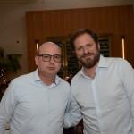 Fabio Mader e Luciano Guimarães, da CVC Corp