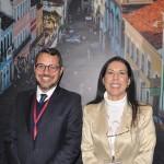 Fausto Franco, secretário de Turismo da Bahia, e Gisele Lima, da Promo