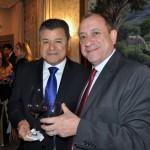 Felipe Gonzales, da Cassinotur, com Toni Sando do Visite São Paulo
