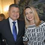 Felipe Gonzales e Keila Moreira