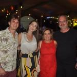 Filipe, Juliana, Ana Rosa e Gustavo Luck, da Luck Receptivo