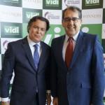 Flávio Peruzzi, da Clia, e Airton Pereira, da Abera