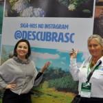 Flavia Didomenico, presidente da Santur, e Rosa Masgrau, do M&E