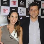 Flavia Morgado e José Domingo Bouzón, do Arena Hotéis