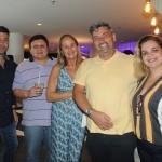 Flavio Valle, da Via Capi, Marcos Vieira e Lina Bazzoni, da Rentamar, e Fernando Zavallo e Michelle Araujo, da Via Capi