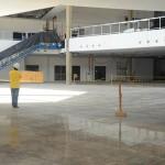 Futuro Foyer que fará a ligação das alas A e B, a entrada principal do complexo